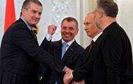 Путин назначил Аксенова и.о. Главы Крыма