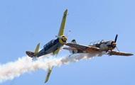 Два легких самолета столкнулись в небе над Калифорнией