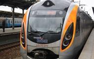 Первый после поломки поезд Hyundai пустили по маршруту Киев-Харьков