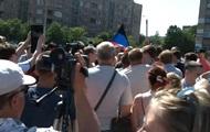 На митинге сторонников ДНР в Горловке произошла потасовка со стрельбой