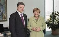 Меркель пригласила Порошенко в гости