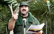 Колумбийский мятежник по прозвищу Тимошенко выступил против наркотиков