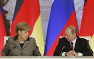 Путин с Меркель обсудили по телефону ситуацию в Украине