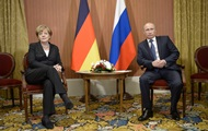 Путин и Меркель обсудили разногласия по Украине