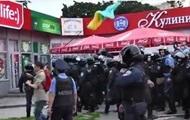 Харьковская милиция разогнала митинг активистов Майдана - видео