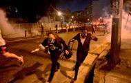 В Бразилии полиция вновь применила слезоточивый газ для разгона демонстрантов