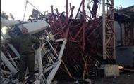 Под Славянском в результате обстрела рухнула телевышка – очевидцы