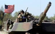 Американские танки появились в Европе впервые за продолжительное время