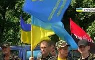 Правый сектор и Самооборона под стенами МВД требовали отставки Авакова