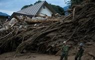 Наводнение в Японии: погибли 42 человека