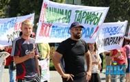 В Херсоне евромайдановцы разогнали антивоенный митинг