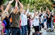 Киевляне выйдут на зарядку на Софиевскую площадь