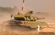 Танковые подразделения Нацгвардии завершают подготовку на полигоне