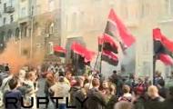 Под АП митингует Правый сектор: онлайн-трансляция