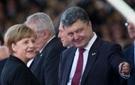 Порошенко и Меркель обсудили экономическую помощь Евросоюза Украине