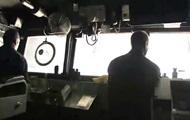 Обнародовано видео бомбардировки позиций