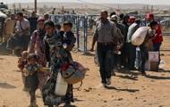 Тысячи курдов бегут из Сирии в Турцию
