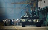 Нацгвардия получила десять танков, которые должны были продать Конго