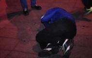 На колени! Во время сноса памятника Ленину был жестоко избит мужчина