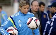 Строгий Тимощук и разговорчивый Хачериди: Как сборная Украины тренировалась