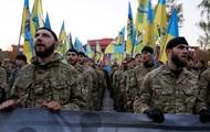 Из Киева в зону АТО отправилась рота полка Азов