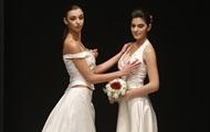 В Италии прошло свадебное дефиле для однополых пар