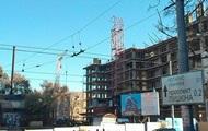 У Дніпропетровську на будівництві впав кран, загинули четверо людей