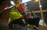В Киеве неизвестные пытались сжечь бездомного старика