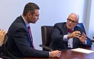 В США Кличко встретился с экс-мэром Нью-Йорка
