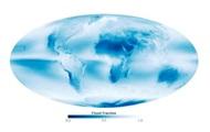 NASA показало самые облачные и сухие места на планете