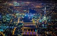 Фотограф-экстремал показал аэрофотоснимки ночных огней Лондона