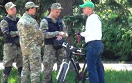 В Одессе милиционеры оцепили Куликово поле, где проходят смотр и митинг