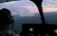 Пожежа в Чорнобильській пущі: рівень радіації вдвічі нижчий від норми