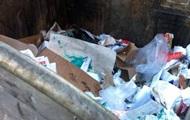 У центрі Краматорська в сміттєвому баку знайшли тіло немовляти