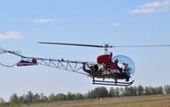 Опубліковані фото нового українського вертольота