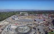 Высота технологий: аэросъемка с места строительства нового кампуса Apple