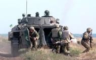 Бойцы АТО завершили первый этап отвода танков на Луганщине