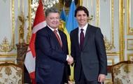 Порошенко встретился с премьером Канады