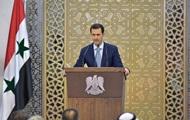 Асад висловився за переговори щодо Сирії в Празі