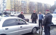 Patrol Kiev detained the drunk behind the wheel of a taxi