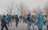 У Києві розігнали мітинг прихильників СРСР