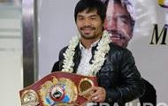 Пакьяо не планирует возвращаться в ринг