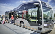 Mercedes створив безпілотний автобус майбутнього