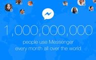 Facebook Messenger набрав мільярд користувачів
