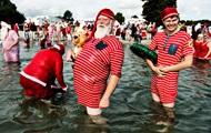 Санта-Клауси з усього світу з'їхалися до Копенгагена