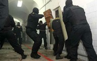 З'явилося відео штурму спецпризначенцями російської колонії