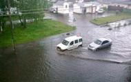 Житомир затопил сильный ливень