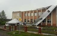 Над Прикарпатьем пронесся сильный ураган