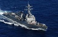 Корабль США открыл огонь в сторону иранского судна