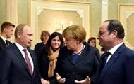 Меркель и Олланд отменили общую встречу с Путиным
